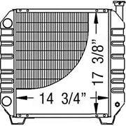 New 86402724 A And I Radiator Fits Ford / Fits New Holland Compact Tractor