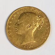 1842 Great Britain Sovereign Gold Coin - High Quality Scans C872
