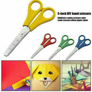 Scissors Childrenand039s School Kids Right And Left Handed Craft 130mm Plastic Handle