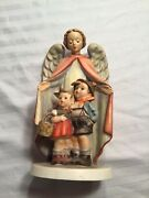 Vintage 1961 Collectible W. Goebel Hummel Heavenly Protection 7andrdquo H. Great Shape