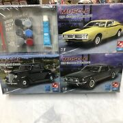 Amt Ertl Model Value Pack 1971 Dodge Charger R/t 1936 Ford Coupe 1967 Mustang