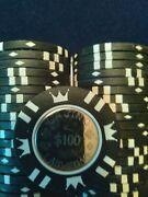 Poker Chips Coin Inlay 15g New 100 Chips 25 Count