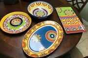 Pier 1 Mexicali Your Choice Euc Plates Bowls Mugs Serving Dishes - Free Shipping