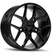 22and039and039 Giovanna Haleb Wheels Gloss Black Tires Chrysler Charger Magnum Challenger
