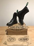 Nps Solovair Black 11 Eye Derby Astronaut Boots Sizeuk6.5 New Only