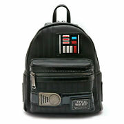 Star Wars By Loungefly Mini Backpack Darth Vader Black Toysapiens Limited 2018