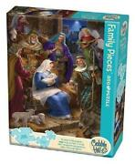 Holy Night Family Pieces 350 Piece Puzzle Cobble Hill Puzzles New Cobble