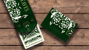 Leaves Playing Cards By Dutch Card House Company - Uk