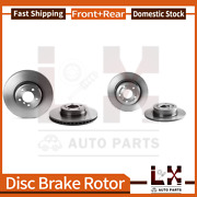 Front And Rear Brembo Coated Oe Brake Rotors Set For Land Rover Range Rover 2003