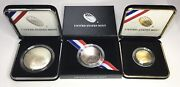 2014 Baseball Hall Of Fame Us Mint W 5 Gold P 1 Silver D Half Dollar 3 Coin Lot