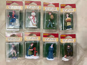 Lot Of Rare And Retired Lemax Christmas Holiday Village Figurines Accessories Nip