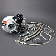 Kinugawa Billet Turbocharger 2.4 Td05h-16g And Blow Off Valve And 8cm T25 Housing