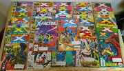 Large X-factor Comic Book Lot_36 Issues_marvel_1988 Thru 1995_key Issues