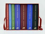 Stunning Deluxe Collectorand039s Edition Box Set 7 Harry Potter Books 2007 - Rare