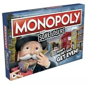 Monopoly For Sore Losers Monopoly Board Game Ages 8 And Up, The Game Where It