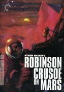 Criterion Collection Robinson Crusoe On Mars New Dvd