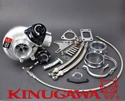 Kinugawa Billet Turbocharger 2.4 Td06sl2-20g And Blow Off Valve And 8cm T3 Housing