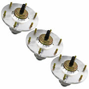 Deck Spindle For Exmark 48 52 60 72 Inch Deck Lazer Z X-series 109-6917 3 Pack
