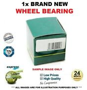 1x Rear Axle Wheel Bearing For Renault Master Box 2.3 Dci [rwd] 2010-on