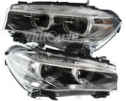 Bmw X6 Series F16 / F86 Bi-xenon Headlight Assembly Right And Left Side Oem New