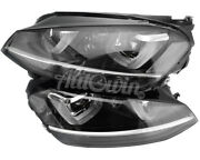 Volkswagen Golf Vii Xenon Adaptive Afs Headlight Right And Left Side Oem New