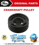Gates Crankshaft Pulley For Bmw 2 Coupe F22 F87 218d 2015-on