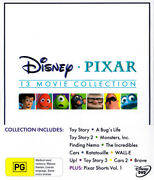 Disney Pixar 13 Movie Collection Toy Story/bugs Life/toy Story [new Dvd]