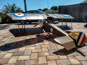 1/3 Scale Rc Airplane Balsa Usa Sopwith Pup W/ Vogelsang Gear Drive Zen G62 Huge