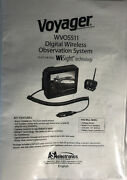 Manual For Voyager Wvos511 Rear Backup Digital Wireless Camera System New-ship24