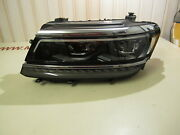 5nb941081d Vw Tiguan Headlight Left Side [scratch On Glass See In Pictures]