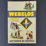 Vintage - Boy Scouts Of America Webelos Scout Book  Brand New 1967