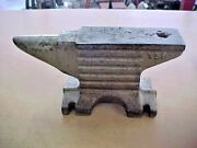 Antique Small Fancy Blacksmith Anvil Of Unknown Maker 8 1/4 Lb