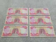 150000 Iqd Iraqi Dinar 6 X 25000 Notes In Excellent Condition