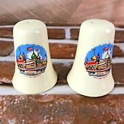 White Bell Shaped Salt And Pepper Shakers - Worldand039s Only Corn Palace