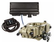 Holley Efi 550-1065 Terminator X Max Stealth 4150 58x Ls Gold With Trans Co...