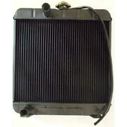 New 219927 Tractor Radiator - 14 3/4 X 16 1/2 X 1 1/4 Fits Ford/fits New Holland