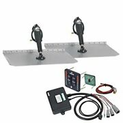Lenco Marine 15108-103 Trim Tab Kit 9x12 W Actuator-led Indicator Switch Boat