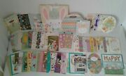 New 40+ Card Lot Premium Hallmark Easter Cards Gift Bags Greeting 20