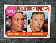 1969 Topps High 567 Pirates Rookie Stars Nm++ Sharp And Centered