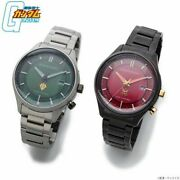 Citizen Independent Gundam 40th Anniversary Model Char And Zeon Army Watch New