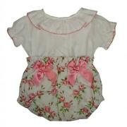 2021 Stunning Baby Girls Spanish Romany Roses And Bows Jam Pants And Top Outfit