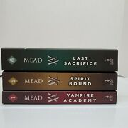 Vampire Academy Books 1,5,6 By Richelle Mead Trade Paperbacks