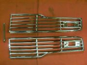 1957 Ford Grille Nos B7a-8150 B7a-8151
