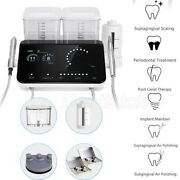 Dental Led Ultrasonic Piezo Scaler No-pain With Air Polisher Ti-alloy Tips Q6