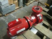 Bell And Gossett E-60 Pump E610s Size 2x5.25 120gpm 9ft Head 1/2hp Used
