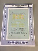 Microscale Decal N Scale 60-694 Golden West Service Freight Cars 3