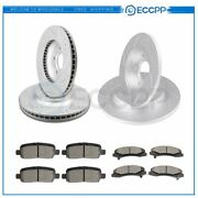 For Honda Odyssey Front And Rear Brake Rotor Ceramic Pads W/ Hardware