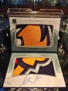 14-15 Sam Reinhart Ud The Cup Auto Monumental Rookie Patch 2/5 Amazing