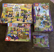 Lego Friends Miaandrsquos Stable 41367 Air Balloon 41423 Horse 41367 And 30412 Lot Of 4
