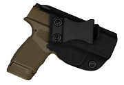 Iwb Concealed Carry Ccw Kydex Holster Appendix Sob Strong - Right Hand - Black